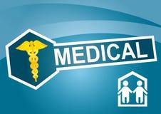 Modelo médico Foto de archivo libre de regalías