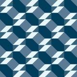Modelo m?nimo geom?trico para el fondo, la teja y las materias textiles stock de ilustración