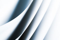 Modelo macro blanco negro del origami del fondo Fotos de archivo