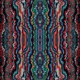 Modelo a mano de las ondas inconsútiles coloridas Fotos de archivo libres de regalías