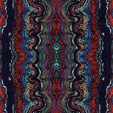 Modelo a mano de las ondas inconsútiles coloridas Imagen de archivo libre de regalías