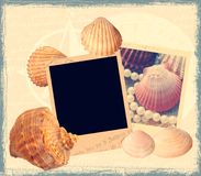 Modelo marina del libro de recuerdos Imagenes de archivo