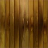 Modelo marrón de madera de tableros oro-coloreados Fotografía de archivo libre de regalías