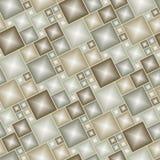 Modelo marrón inconsútil del azulejo libre illustration
