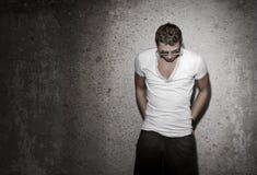 Modelo masculino Fotos de archivo libres de regalías