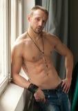 Modelo masculino Fotografía de archivo