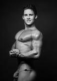 Modelo masculino Imagens de Stock Royalty Free