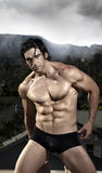 Modelo masculino Fotos de archivo