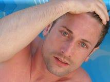 Modelo masculino Foto de Stock Royalty Free