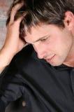 Modelo masculino Imagens de Stock