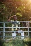 Modelo masculino adolescente Fotografía de archivo