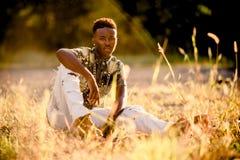 Modelo masculino adolescente Imagen de archivo
