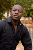Modelo masculino africano Fotos de Stock Royalty Free
