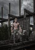 Modelo masculino apto Imagens de Stock Royalty Free