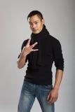 Modelo masculino asiático novo Imagem de Stock Royalty Free