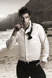 Modelo masculino atractivo Imagen de archivo libre de regalías