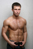 Modelo masculino caliente Foto de archivo