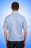 Modelo masculino con la camisa imágenes de archivo libres de regalías