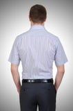 Modelo masculino con la camisa fotografía de archivo libre de regalías