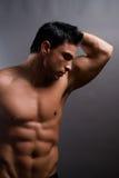 Modelo masculino de la aptitud Fotografía de archivo libre de regalías