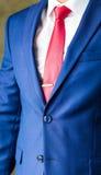 Modelo masculino en un primer del traje Fotografía de archivo