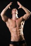 Modelo masculino musculoso Fotografía de archivo