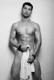 Modelo masculino novo fotos de stock royalty free