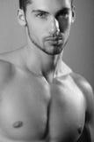 Modelo masculino novo fotografia de stock royalty free