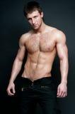 Modelo masculino quente Fotografia de Stock