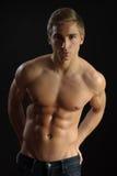 Modelo masculino 'sexy' Foto de Stock Royalty Free