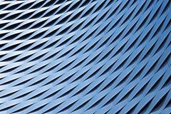 Modelo metálico abstracto Fotos de archivo