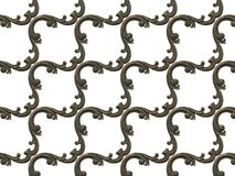 Modelo met?lico bajorrelieve de texturas incons?tiles, consistiendo en los diversos elementos de ornamentos arquitect?nicos y dec imagen de archivo