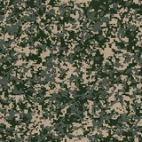 Modelo militar de la tela. Textura inconsútil. Imágenes de archivo libres de regalías