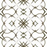 Modelo Modelo blanco y negro regular de la cortina alineado en huevos Ejemplo rico de semitono del modelo Negro del fractal y w a Foto de archivo
