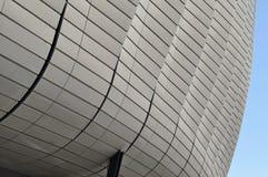 Modelo moderno de la arquitectura de un estadio Fotos de archivo libres de regalías