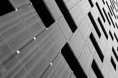 Modelo moderno de la fachada de la arquitectura imagenes de archivo