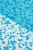 Modelo moderno del suelo de la piscina del mosaico imagenes de archivo