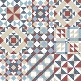 Modelo moderno escandinavo original para el fondo, la teja y las materias textiles libre illustration