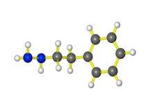 Modelo molecular do nardil Foto de Stock Royalty Free