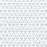 Modelo monocromático de la textura del fondo de Grey Triangle Clothing Fabric Vector libre illustration