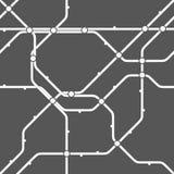 Modelo monocromático inconsútil del esquema del transporte ilustración del vector