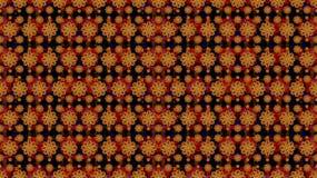 Modelo multicolor del adorno de las estrellas. Imagen de archivo