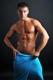 Modelo musculoso Fotos de archivo
