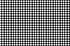 Modelo negro de la guinga Textura del Rhombus/de los cuadrados para - la tela escocesa, manteles, ropa, camisas, vestidos, papel, ilustración del vector