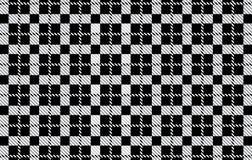 Modelo negro de la guinga Textura del Rhombus para - la tela escocesa, manteles, camisas, vestidos, papel, lecho, mantas, edredon libre illustration