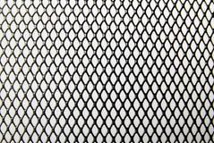 Modelo negro del alambre del hierro Imagen de archivo libre de regalías