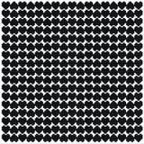 Modelo negro del pixel del corazón Fotografía de archivo libre de regalías