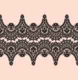 Modelo negro del vector del cordón ilustración del vector