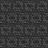 Modelo negro inconsútil stock de ilustración