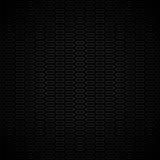 Modelo negro y gris con los panales ilustración del vector
